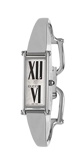 c9f5b32ce52 Gucci 1500 L Stainless Steel Womens Fashion Bangle Watch YA015544   Amazon.ca  Watches