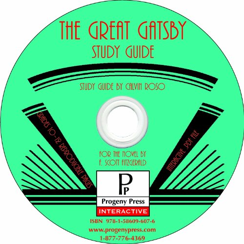 The Great Gatsby Study Guide CD-ROM