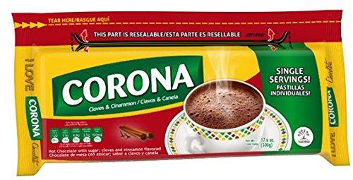 (CORONA CHOCOLATE RESEALABLE CLOVES AND CINNAMON 17.6 OZ)