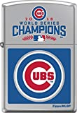 Zippo Chicago Cubs 2016 World Series Champions High Polish Chrome Lighter