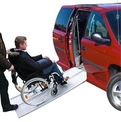 ProPlus Rampa de Acceso a vehículos de Aluminio para Silla de Ruedas (270 kg)
