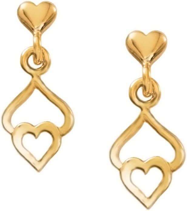 Little creole  earcuff silber goldplated heartbeat 101G