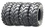Set of 4 New WANDA ATV/UTV Tires 24x8-12 Front & 24x10-11 Rear /6PR P373 …