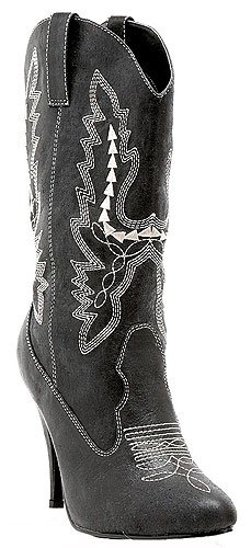 4'' Heel Ankle Cowgirl Boot