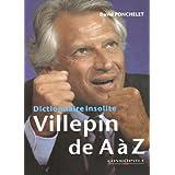 Villepin de A à Z