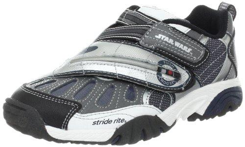 Stride Rite Star Wars Morphing Light-Up Sneaker (Toddler/Little Kid/Big Kid),Grey/Silver,12.5 M US Little Kid
