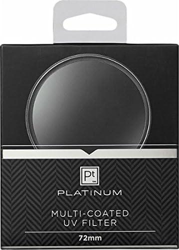 PT-MCUVF72 Clear PLatinum 72mm Multi-Coated UV Lens Filter