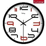Best Creativity for Kids Mirrors - BABYQUEEN 12 Inch Digital Art Creativity Wall Clock Review
