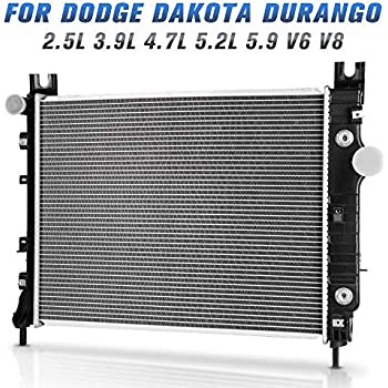 Cool Amazon Com Radiator For 00 04 Dodge Dakota Durango 2 5L 3 9L 4 7L Wiring Cloud Peadfoxcilixyz