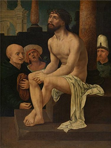 [Oil Painting 'Jan Gossaert (Follower Of) - Christ Sitting On The Cold Stone, 16th Century' Printing On Perfect Effect Canvas , 30x40 Inch / 76x101 Cm ,the Best Foyer Artwork And Home Decor And Gifts Is This Vivid Art Decorative Prints On] (16th Century Costumes For Sale)