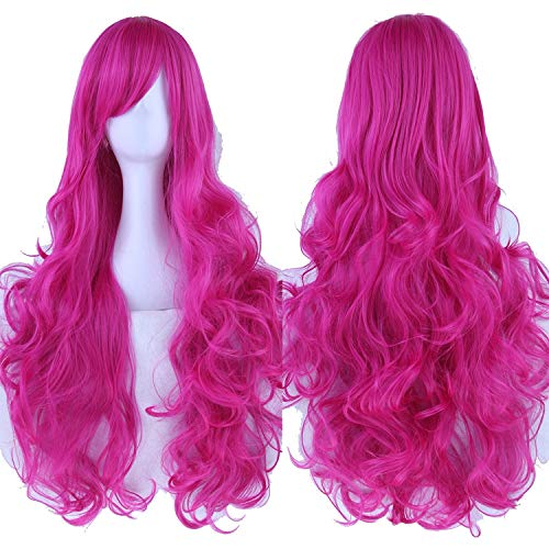 Long Curly Women's Hair Cosplay Wig Hairpiece Synthetic Hair Party Hair Wigs,NC/4HL,32inches ()