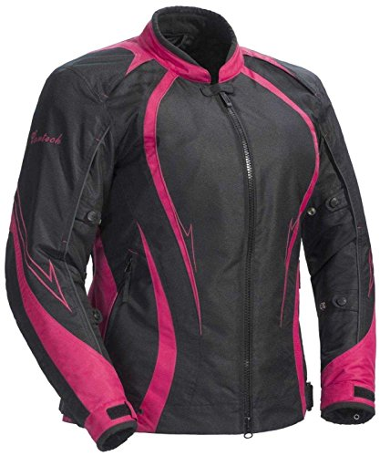 Cortech LRX Series 3 Womens Black/Pink Textile Jacket - Plus Small