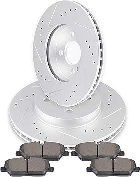Front Premium Ceramic Brake Pads Disc Fits Mini Cooper S John Countryman Paceman