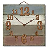 made in usa wood clock - Highland Graphics 12