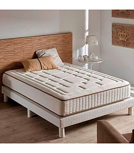 ZENG-Visco Comfort Cashmere Memory Foam Mattress. Medium Firmness Level. 10 Inch, ()