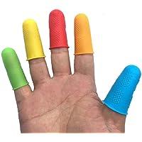 Ogquaton 5 Unidades Protectores de Dedos de Silicona