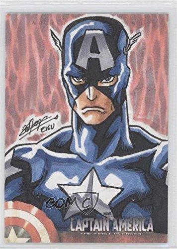 [Missing] #1/1 (Trading Card) 2011 Upper Deck Marvel Studios Captain America The First Avenger – Sketches #1