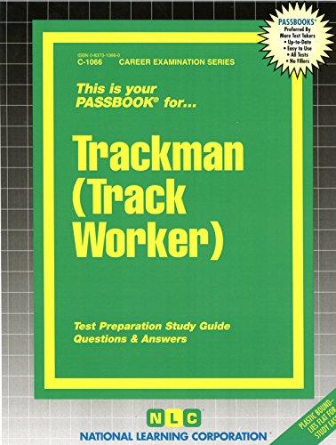 Trackman (Track Worker)(Passbooks)