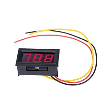 Saiko 5 ~ 100 V drei-draht DC Spannung Meter Led-anzeige Digital ...