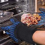 Awekris Oven Gloves Heat Resistant, BBQ Grilling