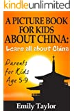 Children's Book on China: A Kids Picture Book About China With Photos and Fun Facts