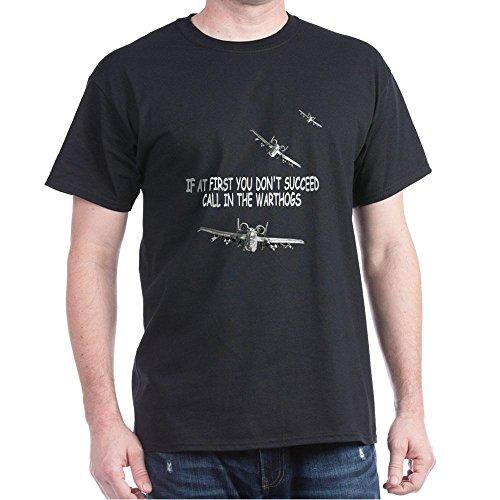 CafePress A-10 Warthogs USAF - 100% Cotton T-Shirt (Usaf Warthog A10)