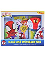 Marvel Spidey & His Amazing Friends: Go-Webs-GO!: Interactive Book and 5-Sound Wristband