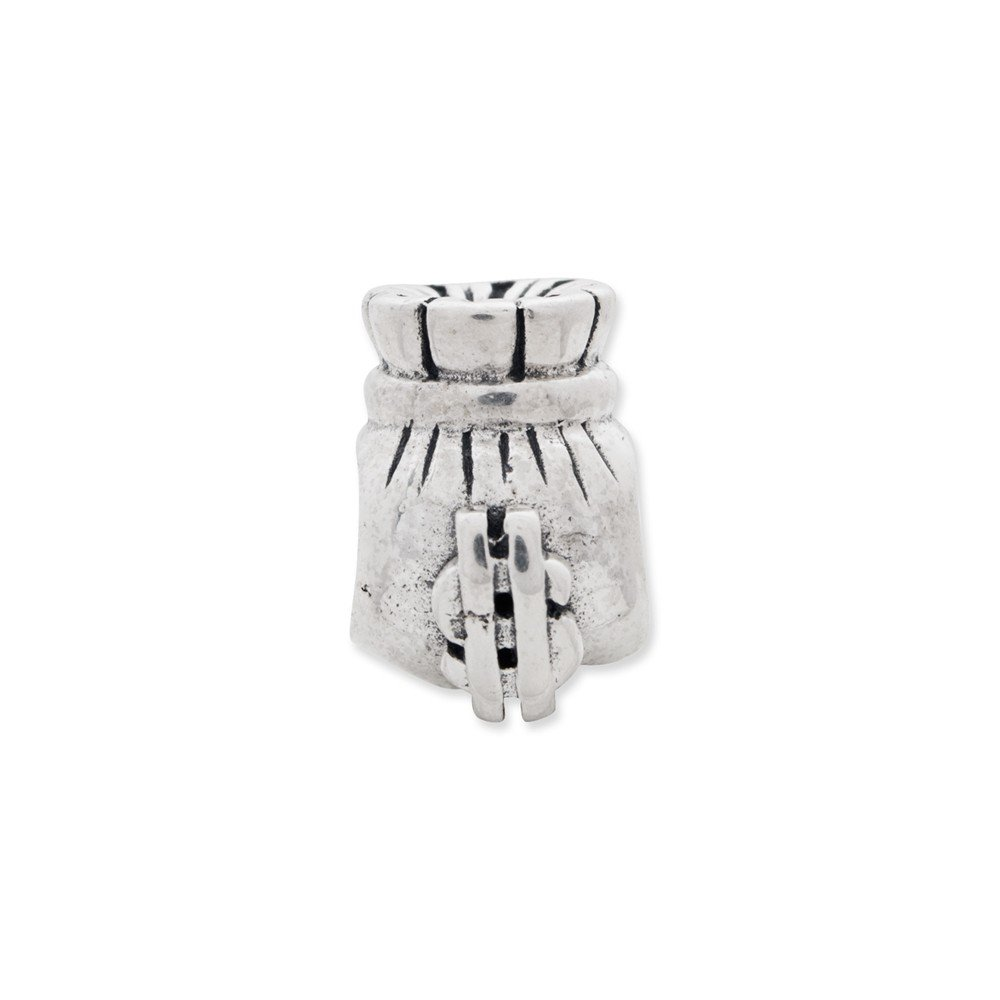 FB Jewels Solid 925 Sterling Silver Reflections Money Bag Bead
