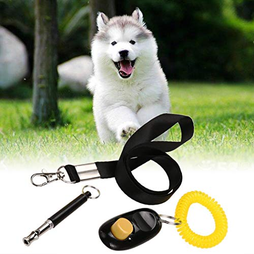 3 in 1 Ultrasonic Stop Barking Whistle Clicker ...