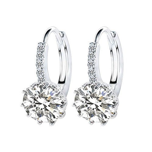 Suyi Women Crystal Zircon Earrings