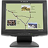Planar Systems 997-3198-00 15-inch Touchscreen Monitor - 5 wire Resistive - 1024 x 768 - 450:1 - 250 cd/m2 - 16 ms - USB - Speakers - VGA - Black (Certified Refurbished)