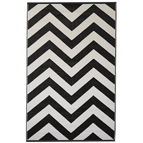 Black And White Rug Outdoor