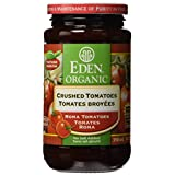Eden Foods Organic Tomato Products-Crushed Tomatoes (Glass), 398Ml