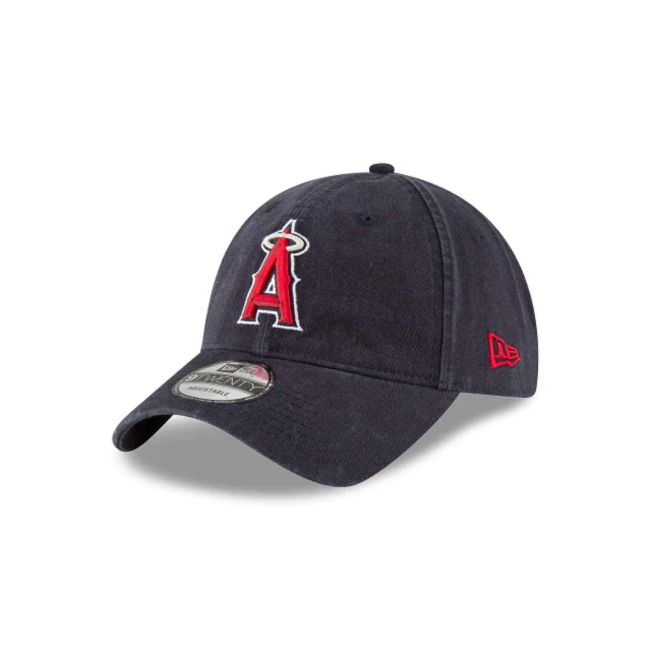 timeless design 5941a 48921 Amazon.com  New Era Core Classic 9TWENTY Adjustable Hat (Anaheim Angels ( Navy))  Clothing