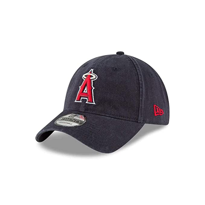 best sneakers 05f21 0f095 New Era Core Classic 9TWENTY Adjustable Hat (Anaheim Angels (Navy))