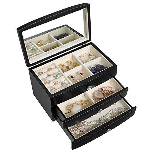 Wood Jewelry Box: Amazon.com
