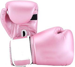 Gants d'entraînement Gants De Boxe Professionnels en Cuir Antidéflagrant À Doublure en Latex en Coton Air Multicolores Moulés d'une Seule Pièce Durables Respirants, Confortables pour Cadeaux