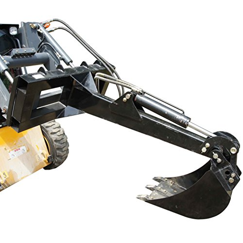 "Skid Steer Backhoe Fronthoe 12"" Bucket Excavator Attachment Bobcat Loader Titan"
