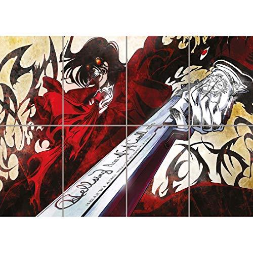 Hellsing Poster - HELLSING ULTIMATEMANGA ANIME GIANT WALL ART PRINT POSTER PICTURE WA128