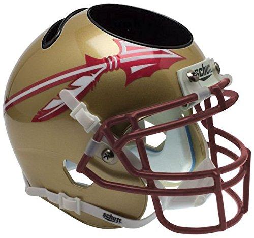 FLORIDA STATE SEMINOLES NCAA Schutt MINI Football Helmet OFFICE PEN/PENCIL/BUSINESS CARD HOLDER FSU by Unknown