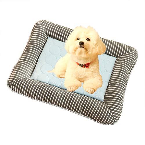 khdug❤ Pet Dog Summer Kennel Mat Sofa Cushion for Kennel Sofa Bed Floor Indoor Outdoor, Beds Ideal for Dog Crates (Nfl Team Pet Mat)