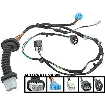 amazon com apdty 756617 power door lock wiring pigtail connector rh amazon com 2002 dodge ram rear door wiring harness 2006 dodge ram rear door wiring harness