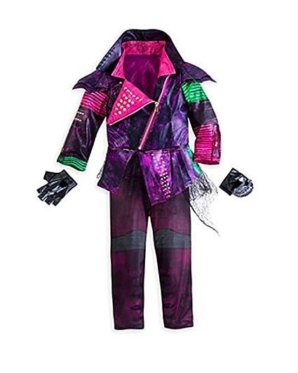 Amazoncom Disney Store Deluxe Descendants Mal Costume For Girls