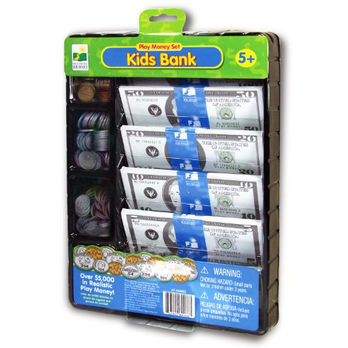 picture of The Learning Journey Kids Bank Play Money Set