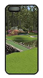 12th Augusta National Polycarbonate Custom iPhone 5S/5 Case Cover - Black hjbrhga1544