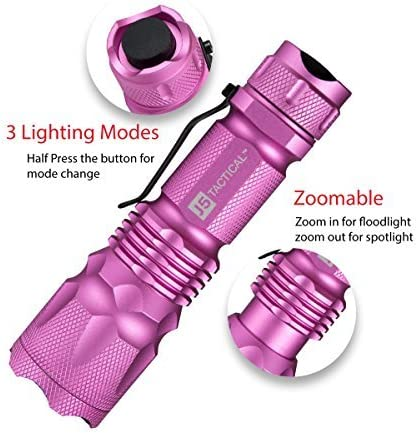 best hunting flashlight: J5 Tactical V1-PRO Flashlight