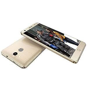 ELEPHONE P7000 (360° Touch ID,3GB RAM,16GB ROM) 5.5 Inch FHD Gorilla Glass MTK6752 8-Core Android 4.4 4G LTE Phone 13MP CAM 3GB RAM 16GB ROM (Golden), [Importado de UK]