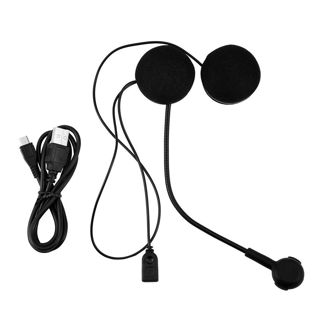 Auriculares est/éreo inal/ámbricos HiFi Bluetooth Casco de Motocicleta Auricular Bluetooth Casco Manos Libres Comunicaci/ón para Moto Tihebeyan Altavoces de Casco de Alta definici/ón