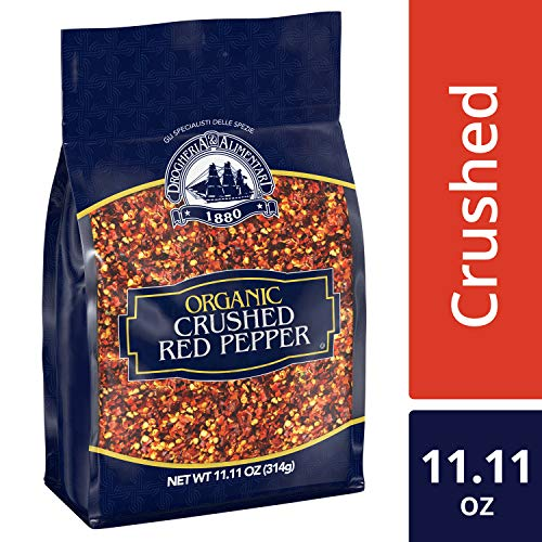 Drogheria & Alimentari Organic Crushed Red Pepper, 11.11 oz