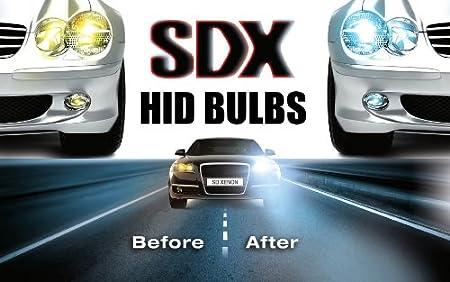 HID Xenon DC Headlight Replacement Bulbs by SDX H13 Dual-Beam Bi-Xenon 6000K
